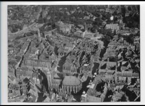 ZZ-1991/ Nürnberg Foto seltenes Luftbild 1936 18 x 13 cm