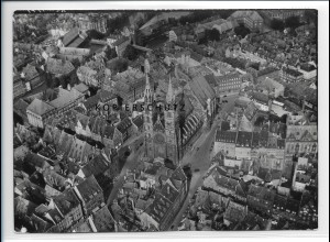 ZZ-1993/ Nürnberg Foto seltenes Luftbild 1936 18 x 13 cm