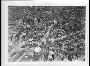 ZZ-1995/ Nürnberg Foto seltenes Luftbild 1937 18 x 13 cm