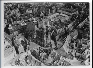ZZ-2006/ Nürnberg Foto seltenes Luftbild 1939 18 x 13 cm