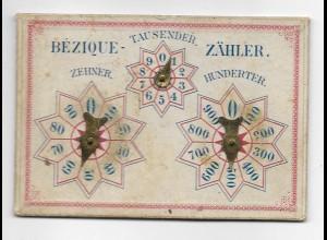 Y17749/ Bezique-Zähler Counter ca.1910-20