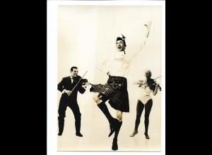 C3876/ Trio Vedette Artisten Variete Zirkus Foto 18 x 13 cm ca.1955