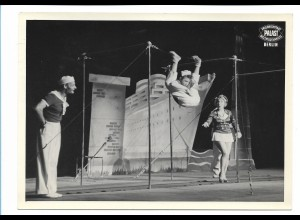 C3880/ Hargard Truppe Akrobaten Artisten Variete Foto 18 x 13 cm ca.1955