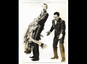 C3877/ Trio Vedette Artisten Variete Zirkus Foto 18 x 13 cm ca.1955