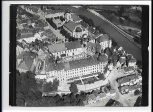 ZZ-2021/ Neuburg a. Donau seltenes Luftbild 1938 18 x 13 cm