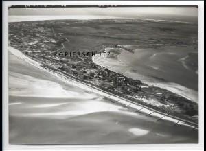 ZZ-2039/ Wittdün auf Amrum seltenes Luftbild 1939 18 x 13 cm