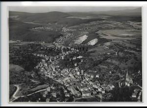 ZZ-2056/ Wiesbaden-Sonnenberg seltenes Luftbild ca. 1935 17 x 12 cm