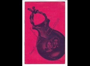 C3428/ Amalia y Ernesto Goya Spanish Dances Tänzer Variete Programmheft ca.1955