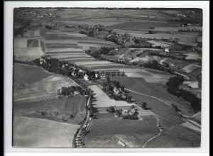 ZZ-2121/ Friedrichswartha Boguszyn Schlesien seltenes Luftbild 1938 18 x 13cm