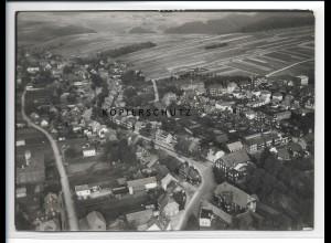 ZZ-2100/ Großbreitenbach seltenes Luftbild 1937 18 x 13 cm