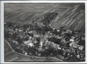 ZZ-2098/ Großbreitenbach seltenes Luftbild 1937 18 x 13 cm