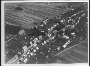 ZZ-2097/ Großbreitenbach seltenes Luftbild 1937 18 x 13 cm