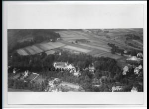 ZZ-2227/ Bad Berka seltenes Luftbild ca.1938 18 x 13 cm