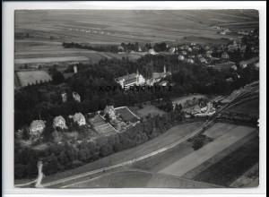 ZZ-2228/ Bad Berka seltenes Luftbild 1938 18 x 13 cm