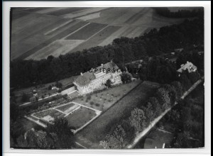 ZZ-2229/ Bad Berka seltenes Luftbild 1938 18 x 13 cm