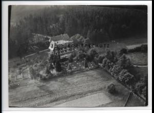 ZZ-2230/ Bad Berka Wilhelmsburg seltenes Luftbild 1938 18 x 13 cm