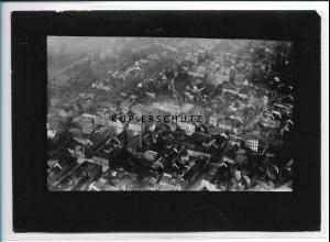 ZZ-2225/ Pössneck seltenes Luftbild 1937 18 x 13 cm
