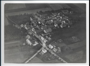 ZZ-2109/ Rehestädt Thüringen seltenes Luftbild 1937 18 x 13 cm