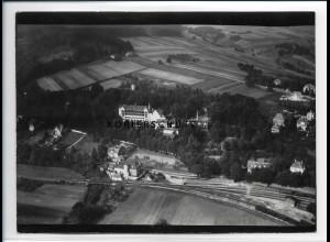ZZ-2107/ Bad Berka Thüringen seltenes Luftbild ca.1938 18 x 13 cm