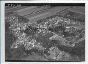 ZZ-2104/ Neumark Thüringen seltenes Luftbild 1939 18 x 13 cm