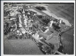 ZZ-2145/ Löcknitz Mecklenburg seltenes Luftbild 1939 18 x 13 cm
