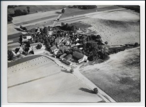 ZZ-2146/ Quilitz - Rankwitz auf Usedom seltenes Luftbild 1939 18 x 13 cm