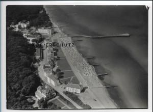ZZ-2157/ Heiligendamm seltenes Luftbild 1939 18 x 13 cm