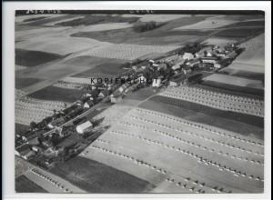 ZZ-2223/ Bismark bei Ramin seltenes Luftbild 1939 18 x 13 cm