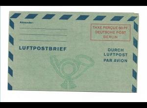 Y17707/ Luftpostfaltbrief Mi.Nr. LF 1 II ungebraucht aktenfrischer Erhaltung