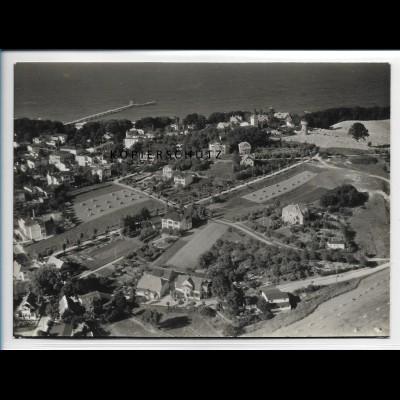 ZZ-2886/ Göhren auf Rügen Foto seltenes Luftbild 1939 18 x 13 cm