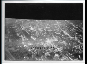 ZZ-2892/ Pössneck Foto seltenes Luftbild ca.1938 18 x 13 cm