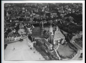 ZZ-2171/ Erfurt seltenes Luftbild 1937 18 x 13 cm