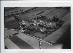 ZZ-2192/ Oelsen bei Krölpa seltenes Luftbild 1939 18 x 13 cm