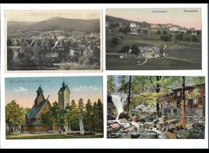 Y17865/ 4 x AK Riesengebirge Schlesien