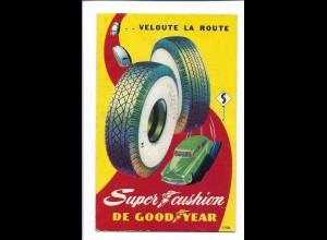 Y20045/ Goodyear Reifen Werbung Reklame 50er Jahre