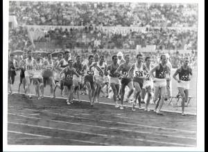 C3907/ Olympiade Rom 1960 10 000m Läufer Foto 24 x 18 cm