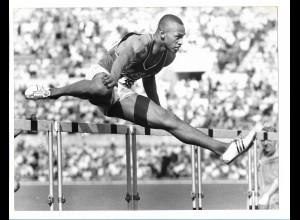 C3906/ Olympiade Rom 1960 110m Hürden May USA Foto 24 x 18 cm