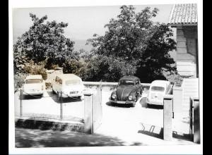 C3895/ Opatija Kroatien Foto 24 x 18 cm VW Käfer ca. 1965