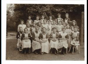 C4030/ Kochschule schönes Foto Hamburg-Hohweide 1908