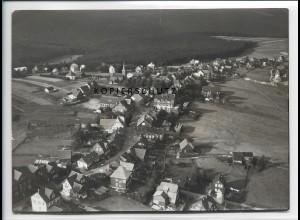 ZZ-2308/ Masserberg seltenes Luftbild 1937 18 x 13 cm
