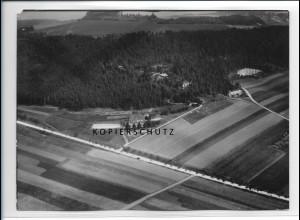 ZZ-2309/ Bad Berka seltenes Luftbild ca.1938 18 x 13 cm