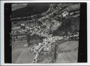 ZZ-2893/ Bad Salzungen Foto seltenes Luftbild 1939 18 x 13 cm