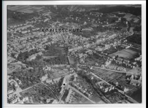 ZZ-2345/ Bad Frankenhausen seltenes Luftbild ca. 1938 18 x 13 cm