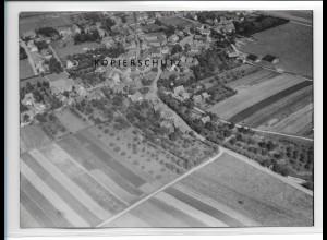 ZZ-2347/ Leimbach seltenes Luftbild ca. 1938 18 x 13 cm
