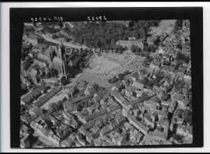 ZZ-2355/ Erfurt seltenes Luftbild 1939 18 x 13 cm