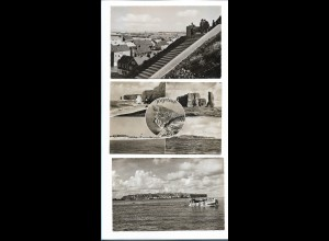 Y17867/ 6 x AK Helgoland Schensky-Foto ca.1955-60