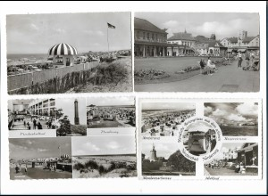 Y17868/ 19 x AK NORDERNEY ca.1955-60