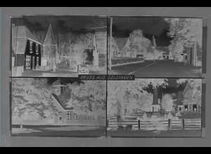 Neg5439/ Selsingen altes Negativ 40er Jahre