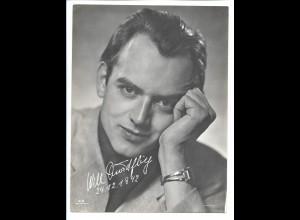 C3953/ Schauspieler Will Quadflieg Film Foto - Verlag 23,5 x 17,5 cm ca.1942