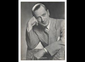C3951/ Schauspieler Karl Ludwig Diehl Film Foto - Verlag 23,5 x 17,5 cm ca.1942